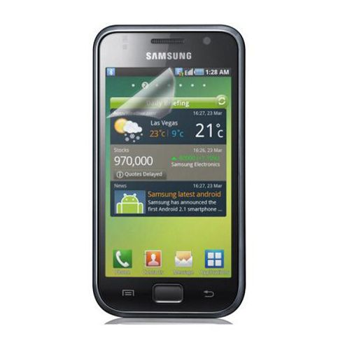 Samsung Clear Screen Protector for Galaxy S - Triple pack