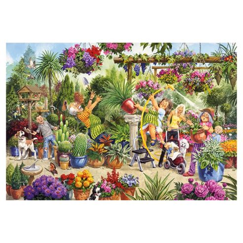 Games Blooming Blunders 500 Pieces Jigsaw Puzzle