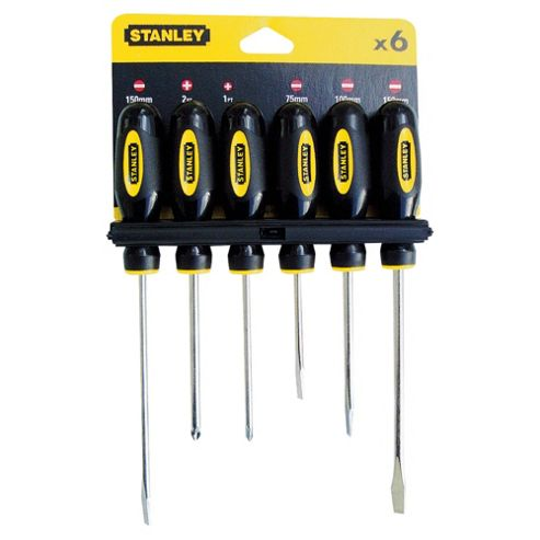 Stanley 6pc Screwdriver Set