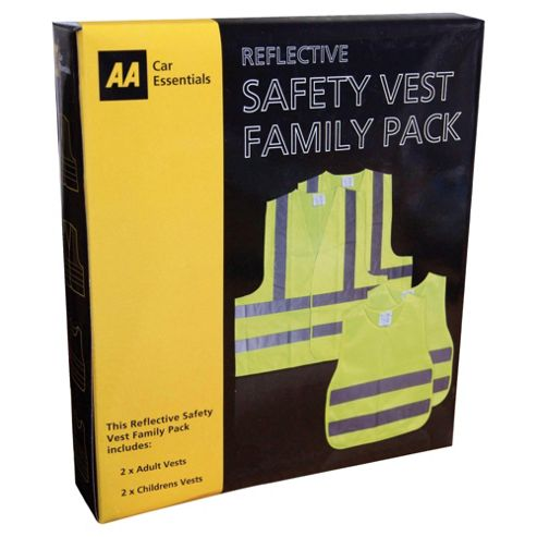 Aa Safety Vest Family Pack