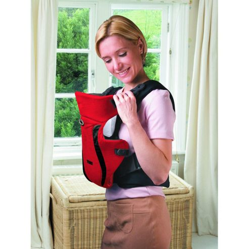 Tomy Premier Baby Carrier, Red/Black