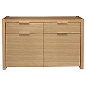 Cologne Sideboard, Oak Veneer
