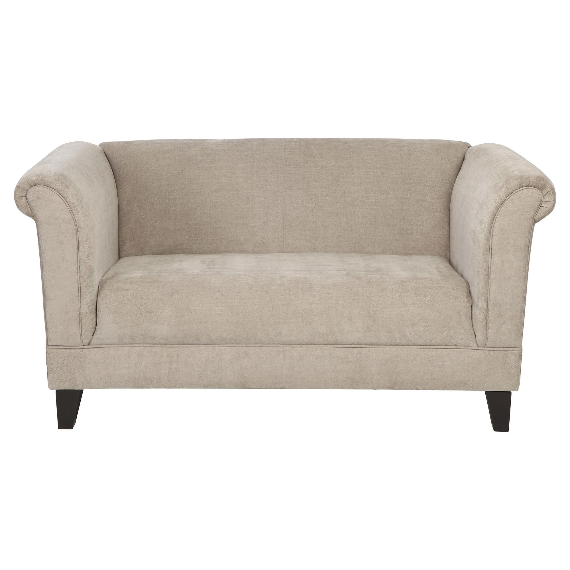 Millie Small Fabric Sofa Mink at Tesco Direct