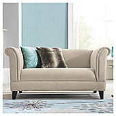 Millie Small Fabric Sofa Mink
