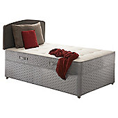 Sealy Posturepedic Ortho Backcare Plus Single Non Storage Divan Bed