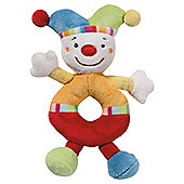 Clown Soft Ring Rattle