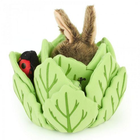 The Puppet Company Rabbit in a Lettuce Puppet- Assortment – Colours & Styles May Vary