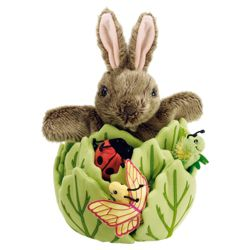 The Puppet Company Rabbit in a Lettuce Puppet