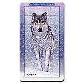 Magna Portrait Snow Wolf 3D Puzzle