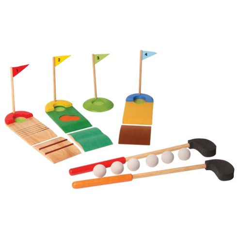 Voila Golf Club Set Wooden Toy