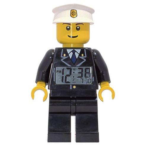 LEGO City Policeman Minifigure Alarm Clock