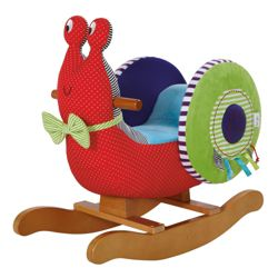 Mamas & Papas Babyplay Snail Rocking Animal