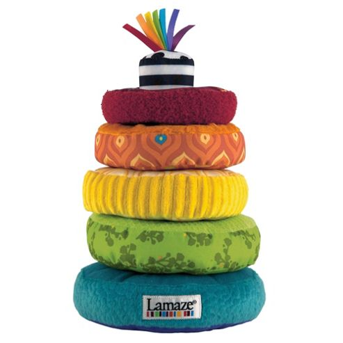 Lamaze Soft Stacking Rainbow Rings
