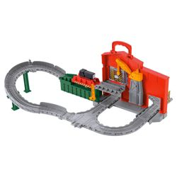 Thomas & Friends Take-n-Play Diesel Works Playset
