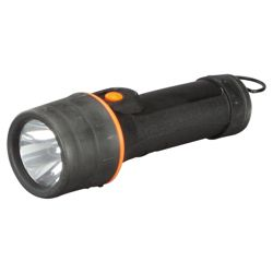 Tesco large rubber impact torch