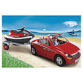 Playmobil 5133 Car with Jet Ski