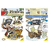 FunToSee Pirates Wall Stickers
