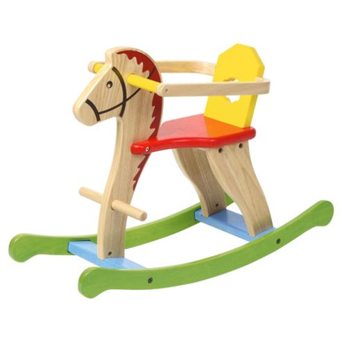 Voila My Rocking Horse with Child Guard Wooden Toy