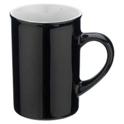 Tesco Set of 4 Mugs, Black.