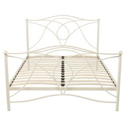 Hampshire Single Bed Frame, Cream