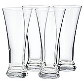 Tesco Set of 4 Pilsner Glasses.