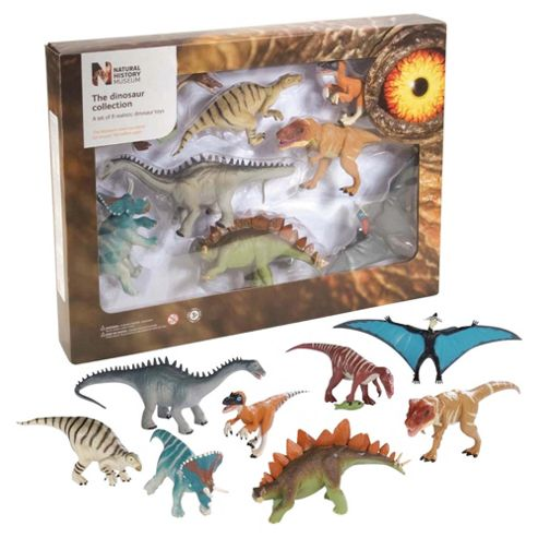Dinosaur 8 Piece Boxed Set Multi