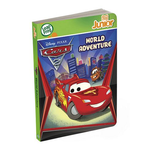 LeapFrog LeapReader Junior Disney Cars 2 Book