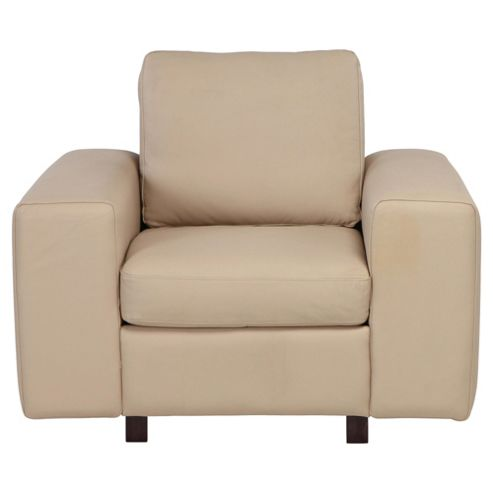 Marcello Leather Armchair, Taupe