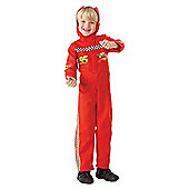 Lightning McQueen Racing Driver Suit L