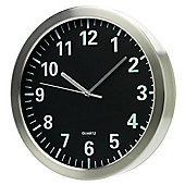 Tesco Black Face Wall Clock