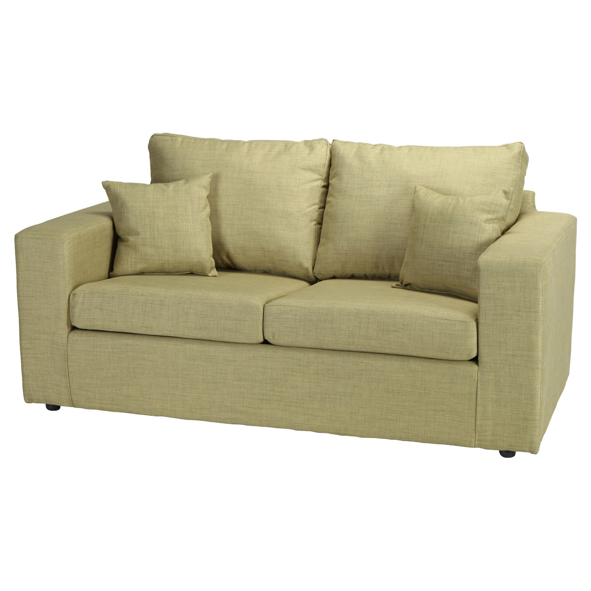 Maison Fabric Sofa Bed Pistachio at Tesco Direct