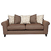 Amersham Large Scatter Back Sofa Mocha