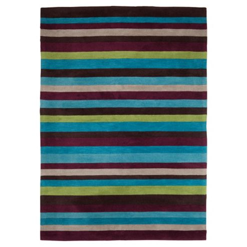 Tesco Rugs Stripes Rug Retreat 120X170Cm