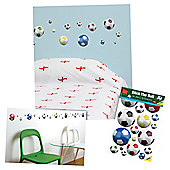 FunToSee Football Wall Stickers
