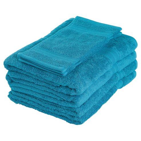 Tesco Towel Bale Turquoise