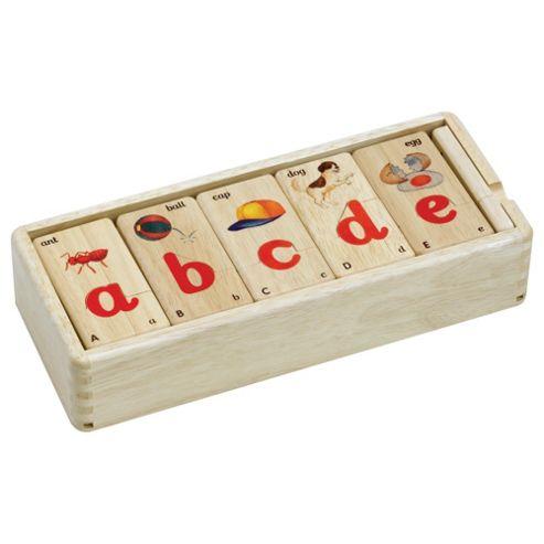 Voila Jigsaw Alphabet Puzzle Wooden Toy
