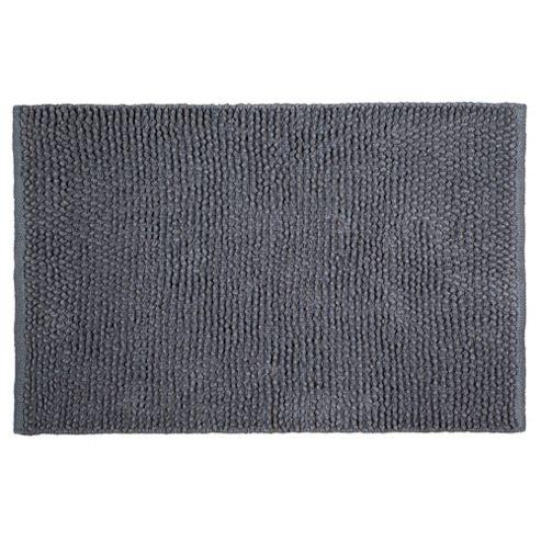 Tesco Chenille Loop Mat Grey