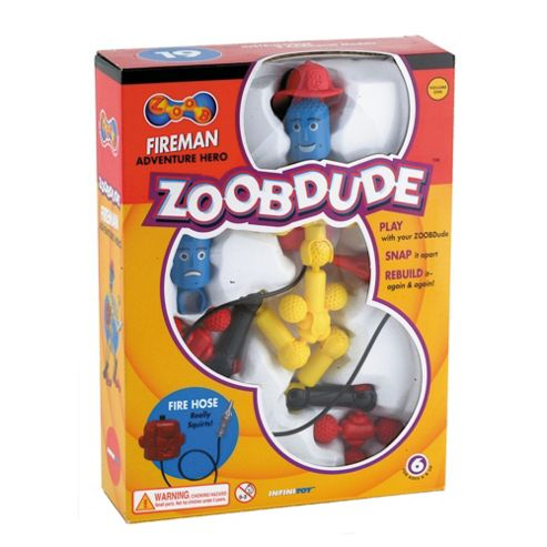 Great Gizmos Zoobdude Fireman Adventure Hero