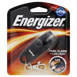 Energizer Panic Alarm and LED Light