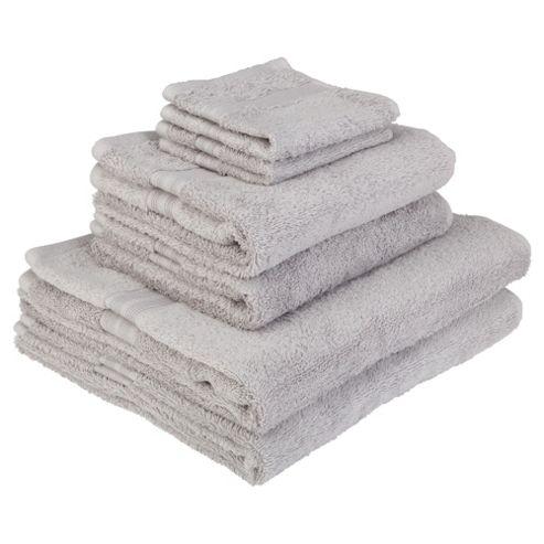 Tesco Towel Bale Silver