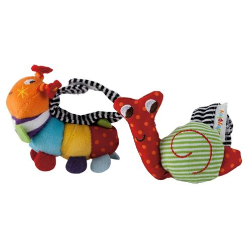 Mamas & Papas Babyplay Wrist Rattle Pack