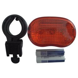 Activequipment 3 Function LED Rear Bike Light