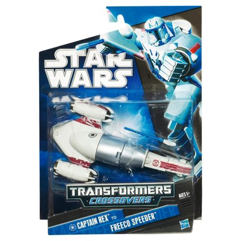 Star Wars Transformers Freeco Bike & Rex Figure