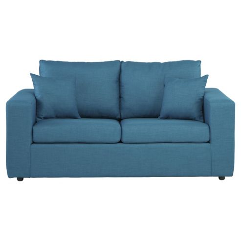 Maison Fabric Sofa Bed, 2 Seater Sofa Teal