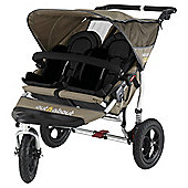 Out 'n' About V2 Nipper 360, Double 3 wheeler Pushchair, Carmel