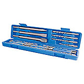 Silverline SDS + Masonry Drill & Steel Set 12 Piece