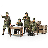 Tamiya 35341 Ija Japanese Army Officers Set 1:35 Figures Model Kit