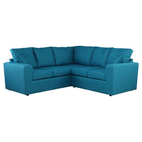 Maison Fabric Corner Sofa Teal