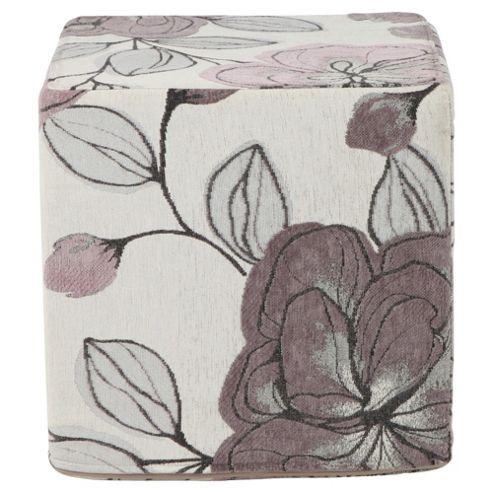 Amelie Cube Lilac Floral
