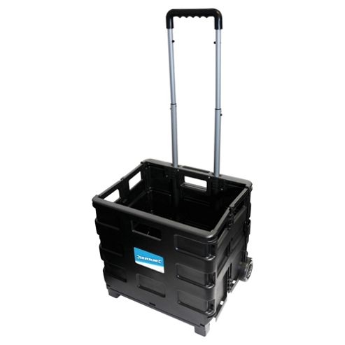Silverline Folding Box Trolley 25KG
